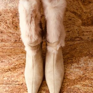 Wild Rose Natural Boots
